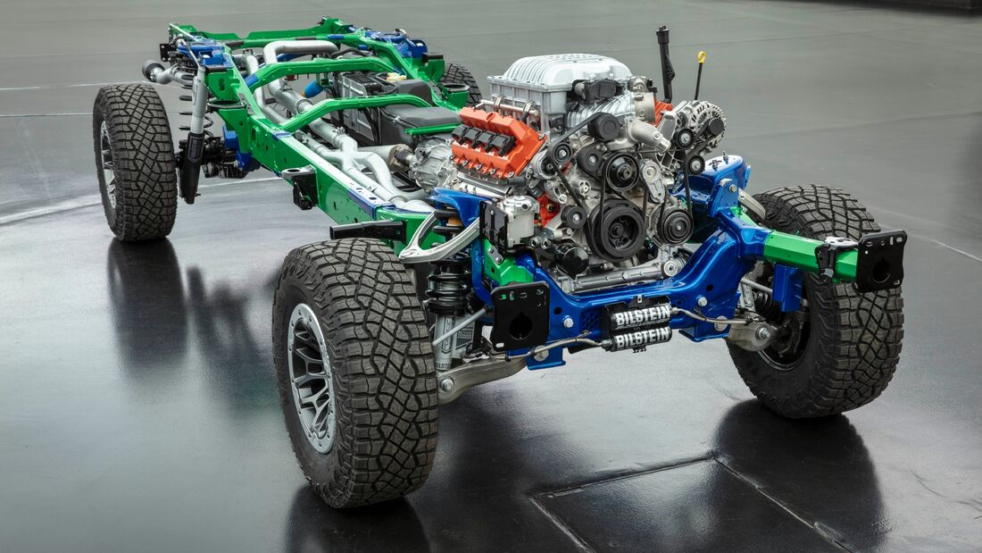 2021 Ram 1500 TRX Pickup