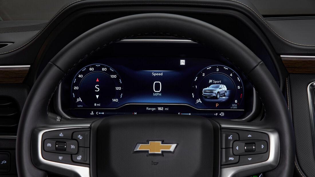 2022 Chevrolet Tahoe und Suburban Facelift