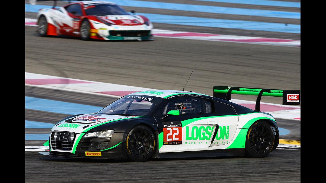 24 h Rennen Spa # 22 Audi R8 LMS Ultra Team Parker Racing
