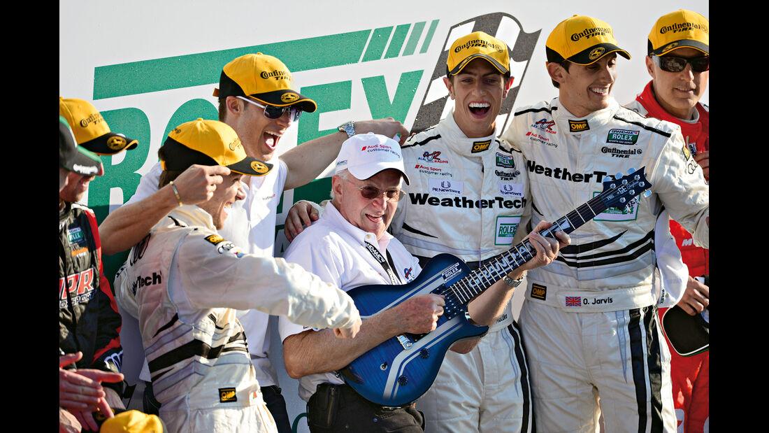 24h Daytona, Audi, Team