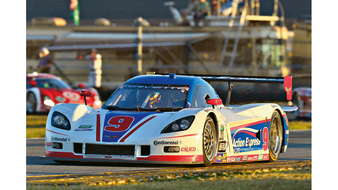 24h Daytona, Shank Racing, Corvette
