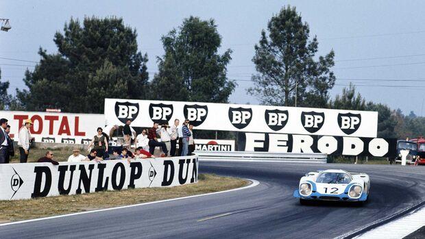 24h Le Mans 1969 Nr 12 Vic Elford Richard Attwood Porsche 917 LH Coupé