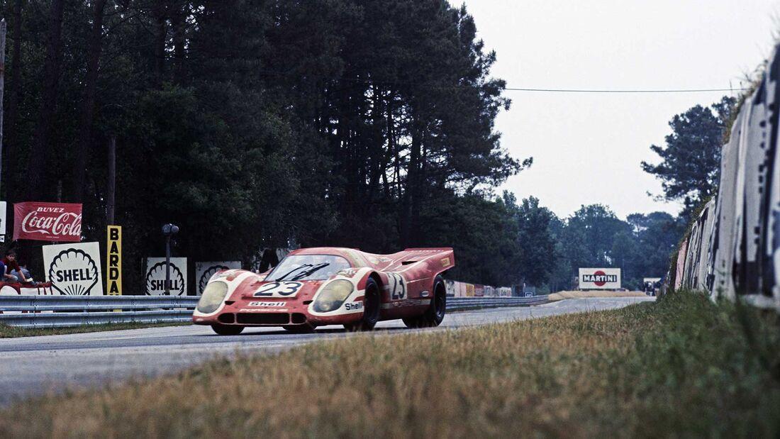 24h Le Mans 1970 Nr.23 Hans Herrmann Richard-Attwood Porsche 917 KH Coupé 1