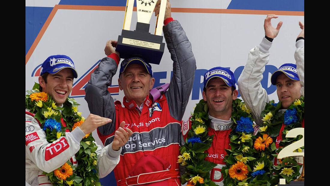 24h Le Mans 2010 Mike Rockenfeller Romain Dumas Wolfgang Ullrich Timo Bernhard