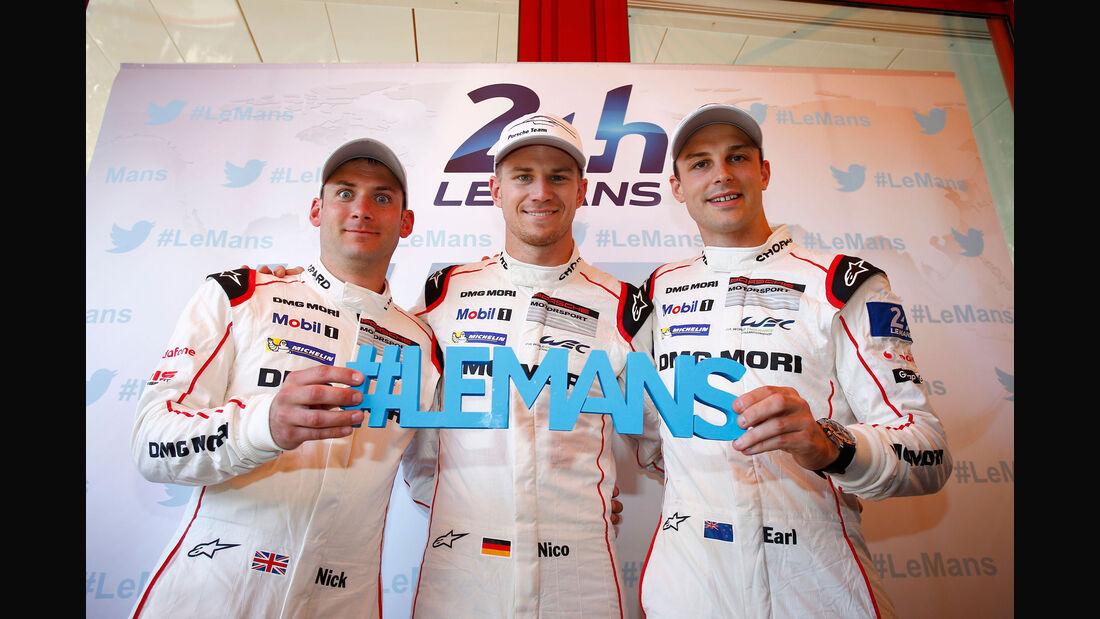 24h Le Mans 2015 - Nick Tandy - Nico Hülkenberg - Earl Bamber