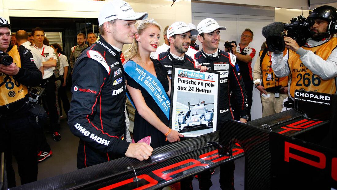 24h Le Mans 2015 - Porsche - Lieb - Jani - Dumas