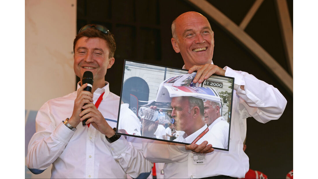 24h Le Mans 2015 - Scrutineering - Technische Abnahme - Audi