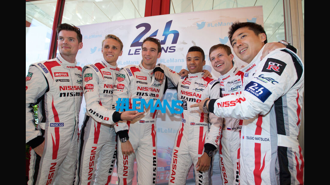 24h Le Mans 2015 - Scrutineering - Technische Abnahme - Nissan