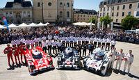 24h Le Mans 2015 - Scrutineering - Technische Abnahme - Porsche 919 Hybrid