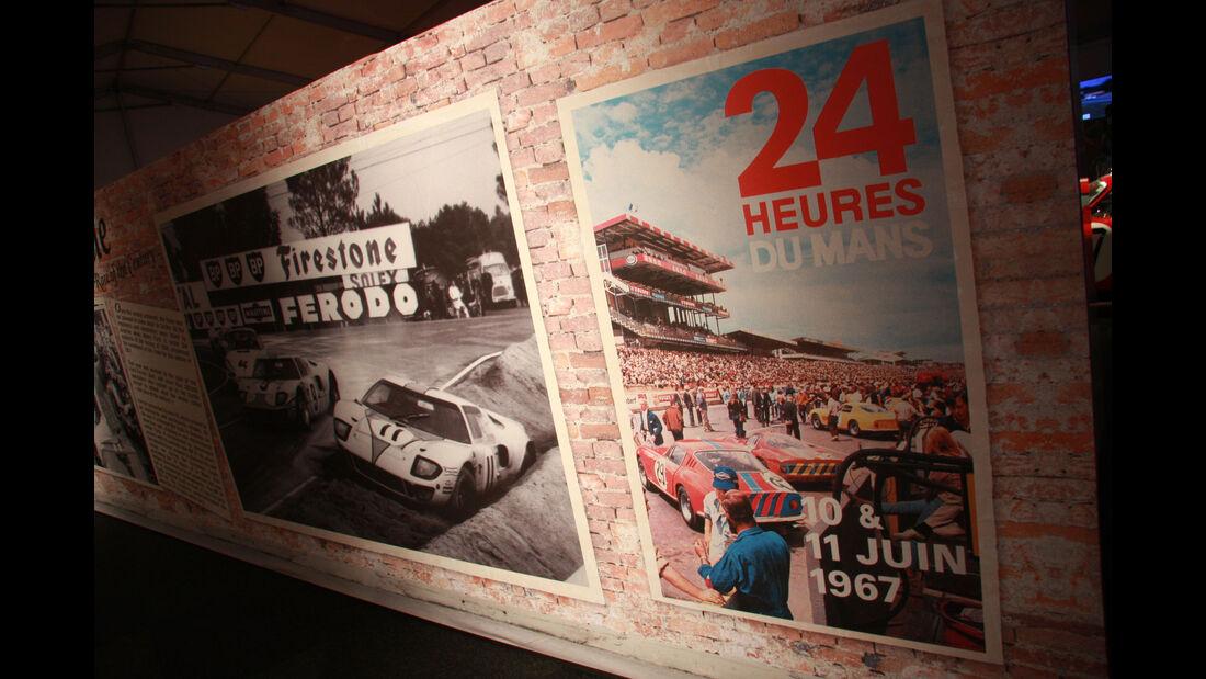 24h Le Mans - Ausstellung - Ford - Ferrari