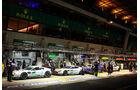 24h Le Mans, Boxengasse