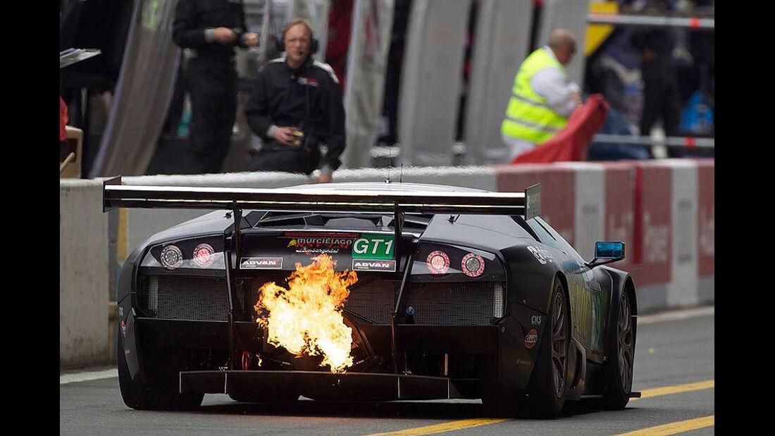 24h Le Mans Lamborghini