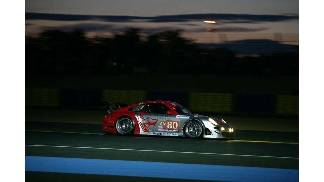 24h Le Mans Porsche 911