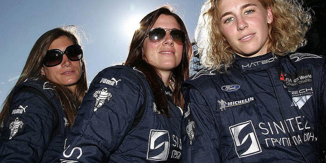 24h Le Mans Rahel Frey Natacha Gachnang Cindie Allemann