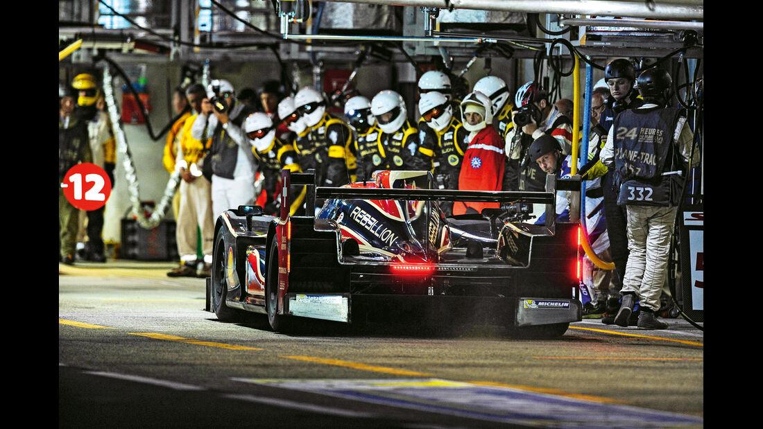 24h Le Mans, Rebellion-LMP1, Box