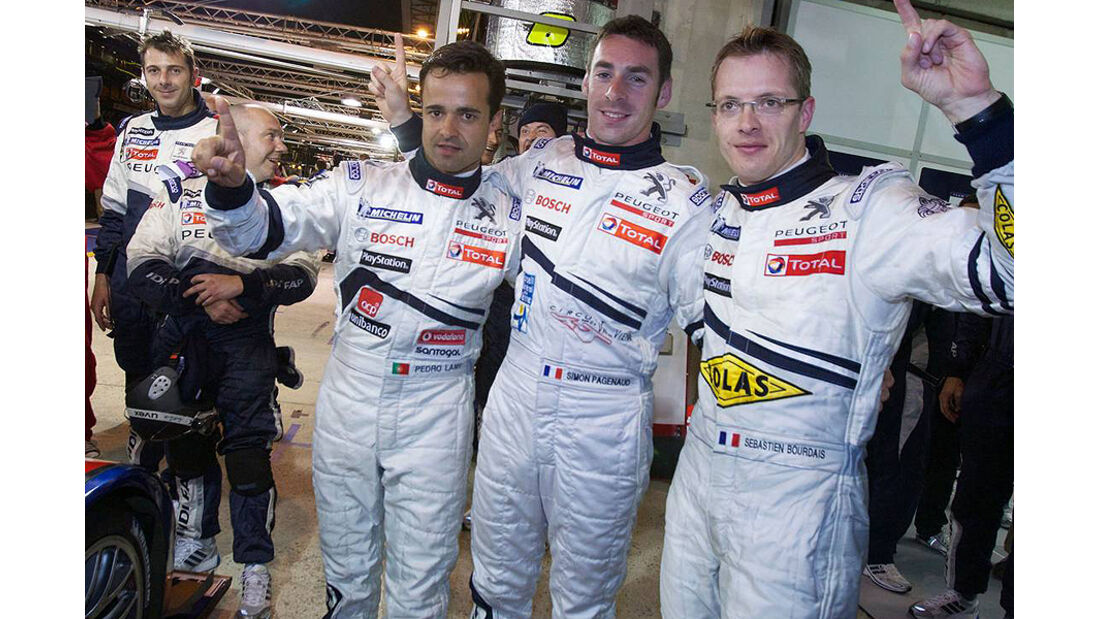 24h Le Mans Sebastien Bourdais Pedro Lamy Simon Pagenaud
