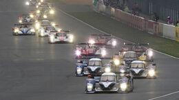 24h Le Mans Start