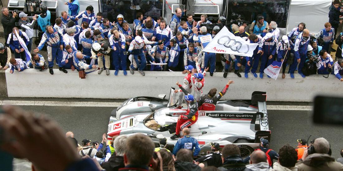 24h Le Mans, Toyota, Sieger, Feier
