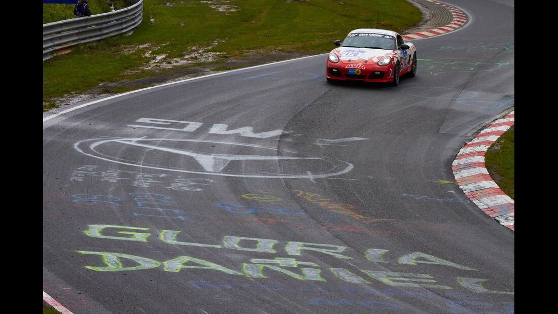 24h Nürburgring 2013 - Graffiti