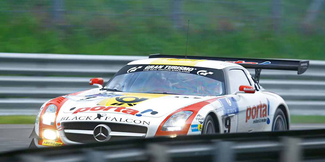 24h-Nürburgring, Black Falcon, Mercedes SLS