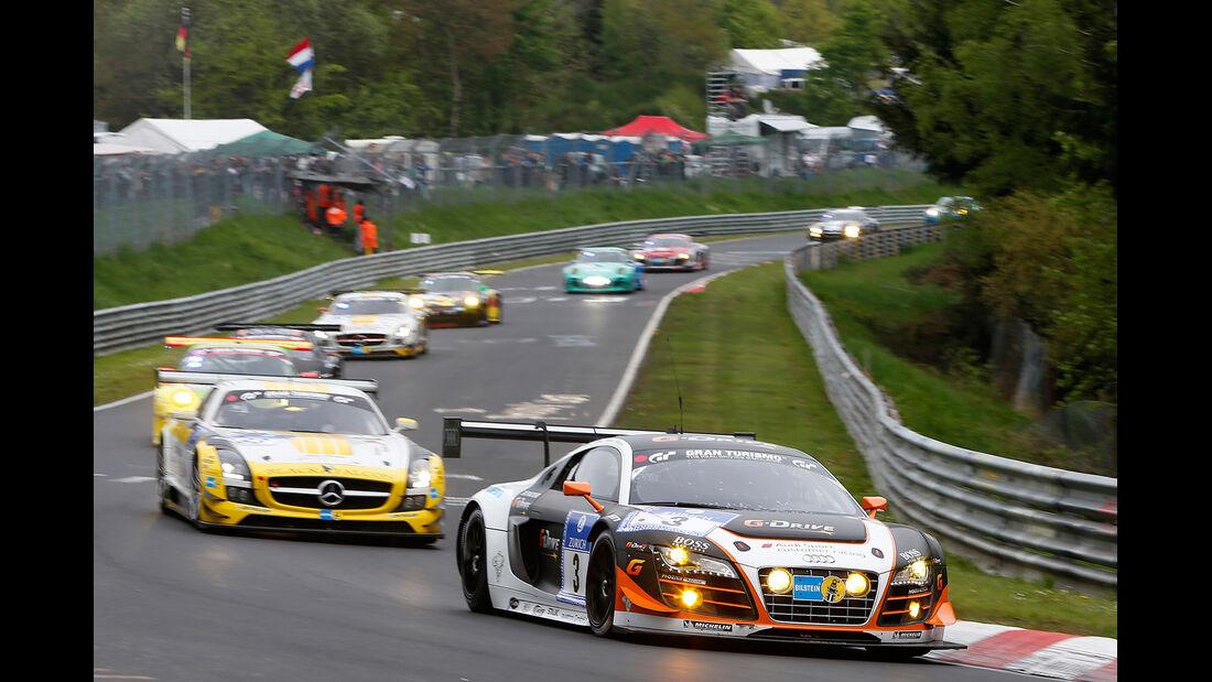 24h-Nürburgring, Einführungsrunde