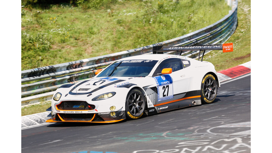 24h-Nürburgring - Nordschleife - Aston Martin Vantage - Aston Martin Racing - Klasse SP 9 - Startnummer #27