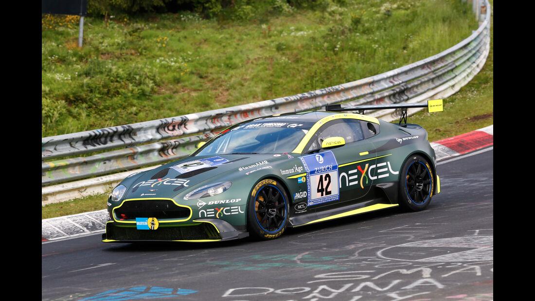 24h-Nürburgring - Nordschleife - Aston Martin Vantage GT8 - Aston Martin Test Centre - Klasse SP 8 - Startnummer #42