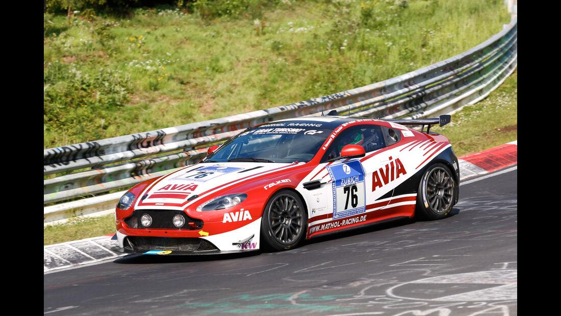 24h-Nürburgring - Nordschleife - Aston Martin Vantage V8 - Team Mathol Racing e. V. - Klasse SP 10 GT4 - Startnummer #76