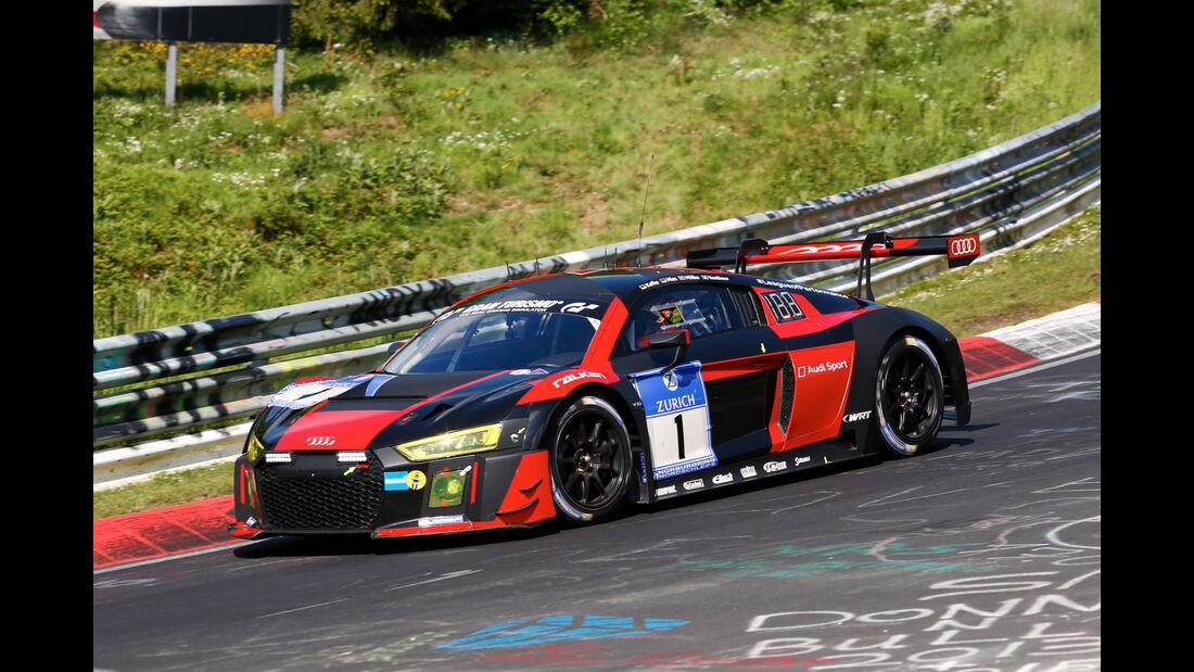 24h-Nürburgring - Nordschleife - Audi R8 LMS - Audi Sport Team WRT - Klasse SP 9 - Startnummer #1