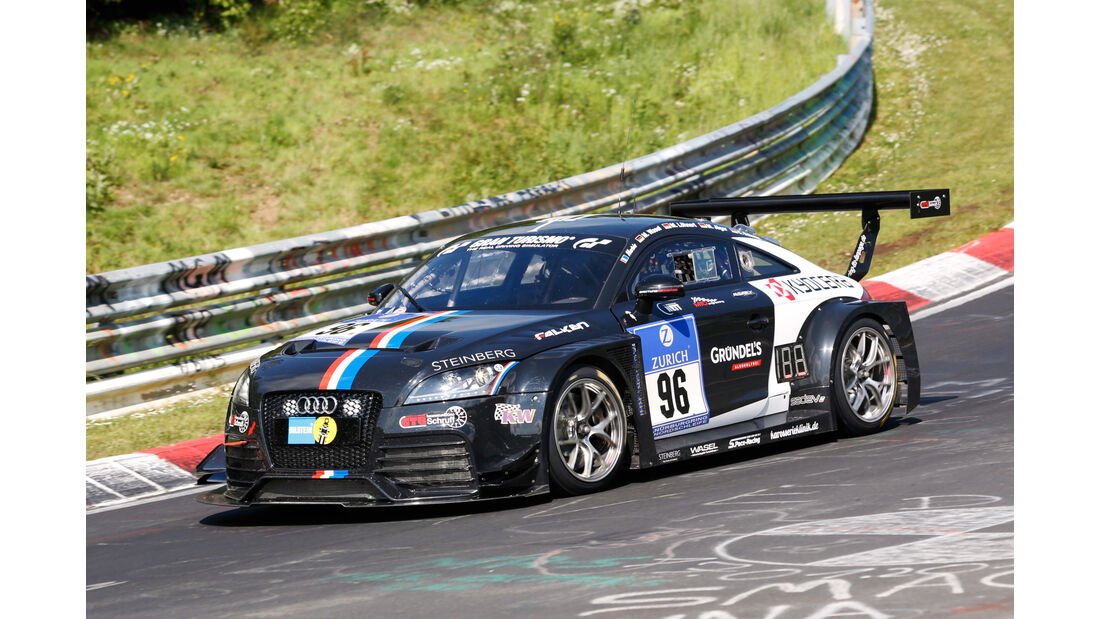 24h-Nürburgring - Nordschleife - Audi TT RS - Team S.Pace-Racing - Klasse SP 4T - Startnummer #96