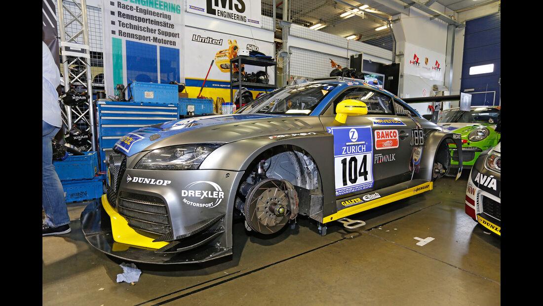 24h-Nürburgring - Nordschleife - Audi TT RS2 - LMS Engineering - Klasse SP 3T - Startnummer #104
