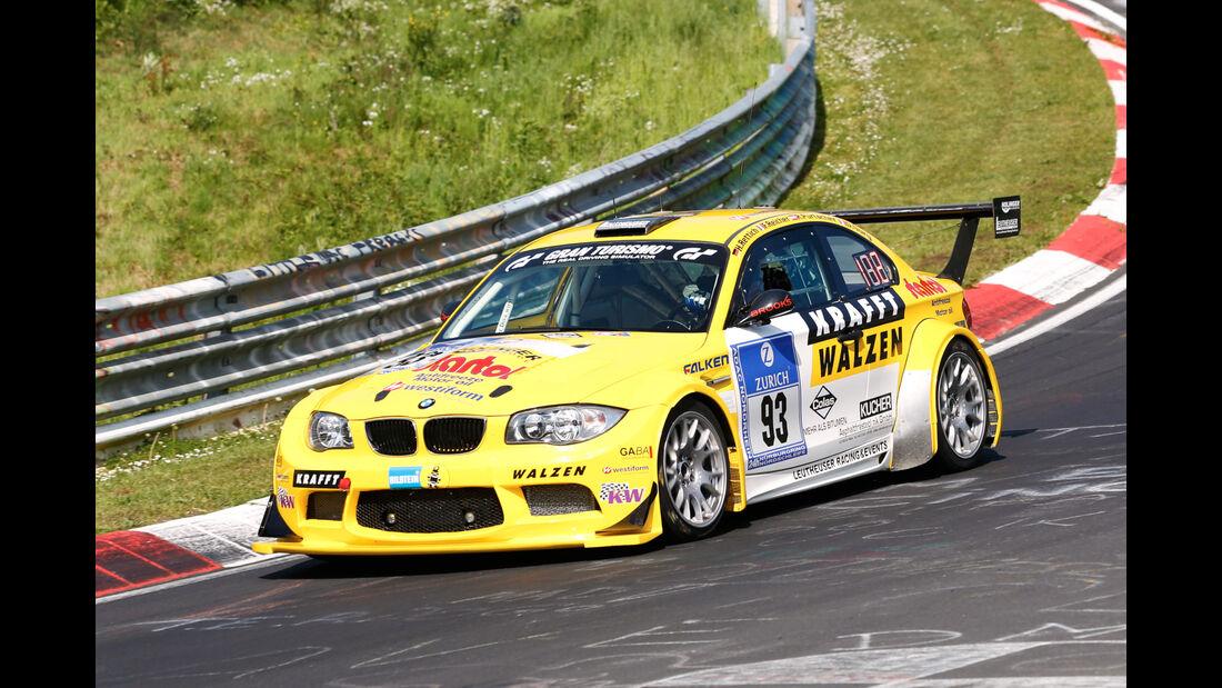 24h-Nürburgring - Nordschleife - BMW 1M-Coupé GTR - Leutheuser Racing & Events - Klasse SP 5 - Startnummer #93