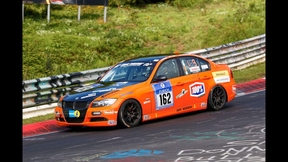 24h-Nürburgring - Nordschleife - BMW 325i E90 - MSC Adenau e. V. im ADAC - Klasse V 4 - Startnummer #162