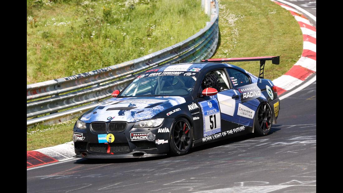24h-Nürburgring - Nordschleife - BMW 335i - Team Securtal Sorg Rennsport - Klasse SP 8T - Startnummer #51