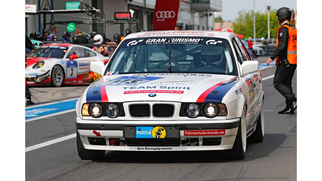 24h-Nürburgring - Nordschleife - BMW E34 - Klasse AT - Startnummer #115