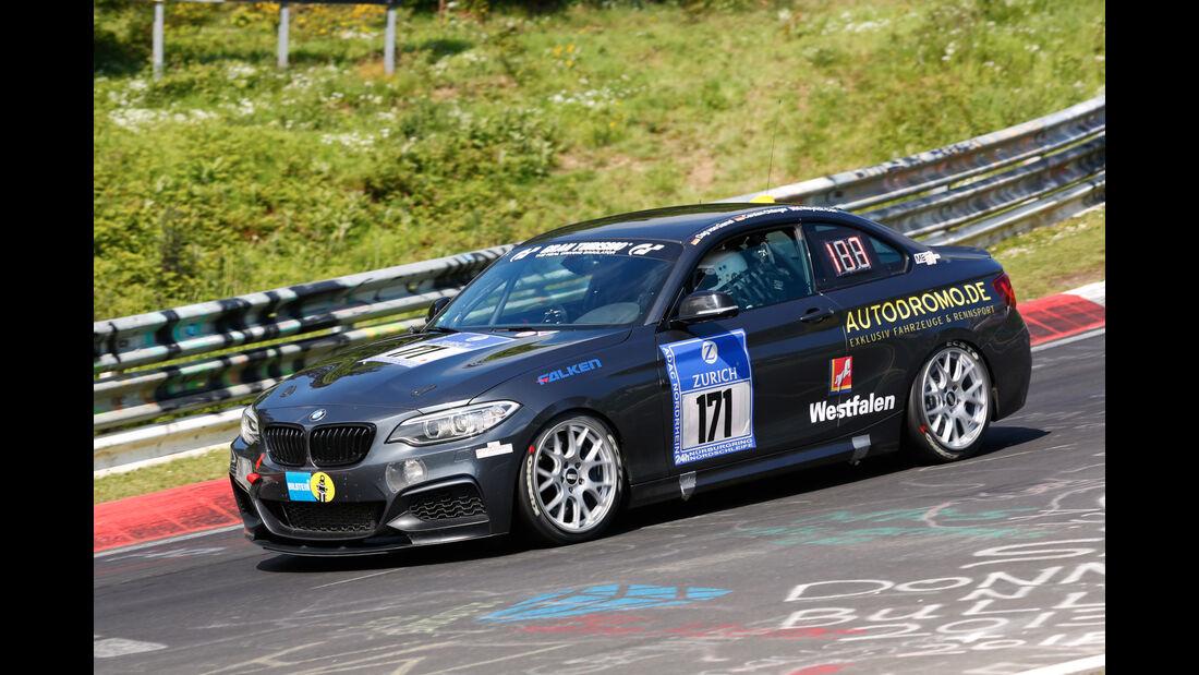 24h-Nürburgring - Nordschleife - BMW M 235i - Race House Motorsport - Klasse V 3T - Startnummer #171