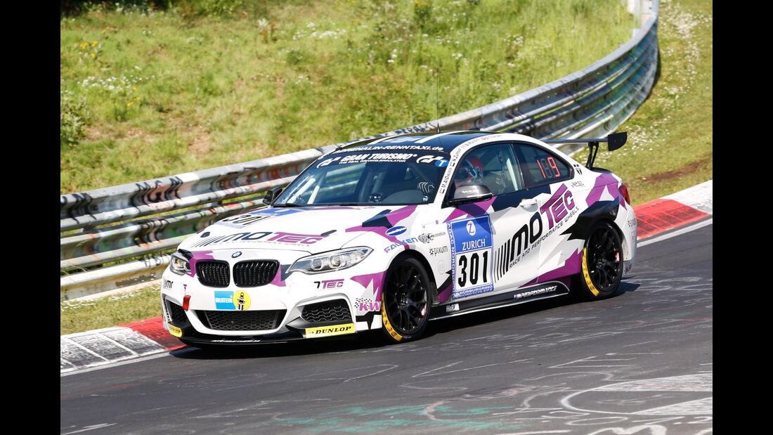 24h-Nürburgring - Nordschleife - BMW M235i Racing Cup - Pixum Team Adrenalin Motorsport - Klasse Cup 5 - Startnummer #301