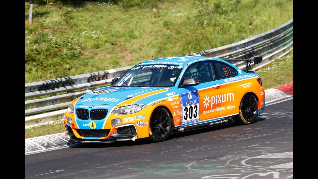 24h-Nürburgring - Nordschleife - BMW M235i Racing Cup - Pixum Team Adrenalin Motorsport - Klasse Cup 5 - Startnummer #303