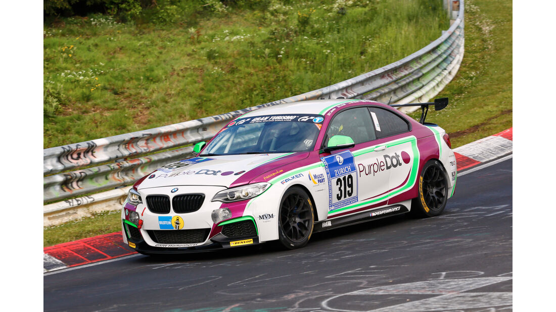 24h-Nürburgring - Nordschleife - BMW M235i Racing Cup - Walkenhorst Motorsport powered by Dunlop - Klasse Cup 5 - Startnummer #319