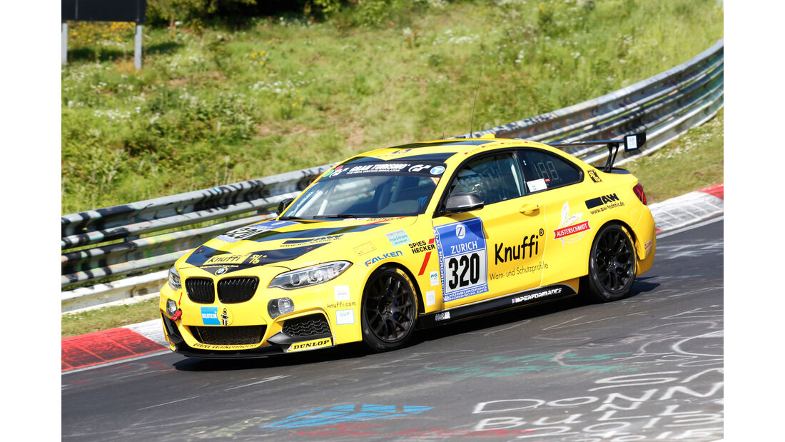 24h-Nürburgring - Nordschleife - BMW M235i Racing Cup - Walkenhorst Motorsport powered by Dunlop - Klasse Cup 5 - Startnummer #320