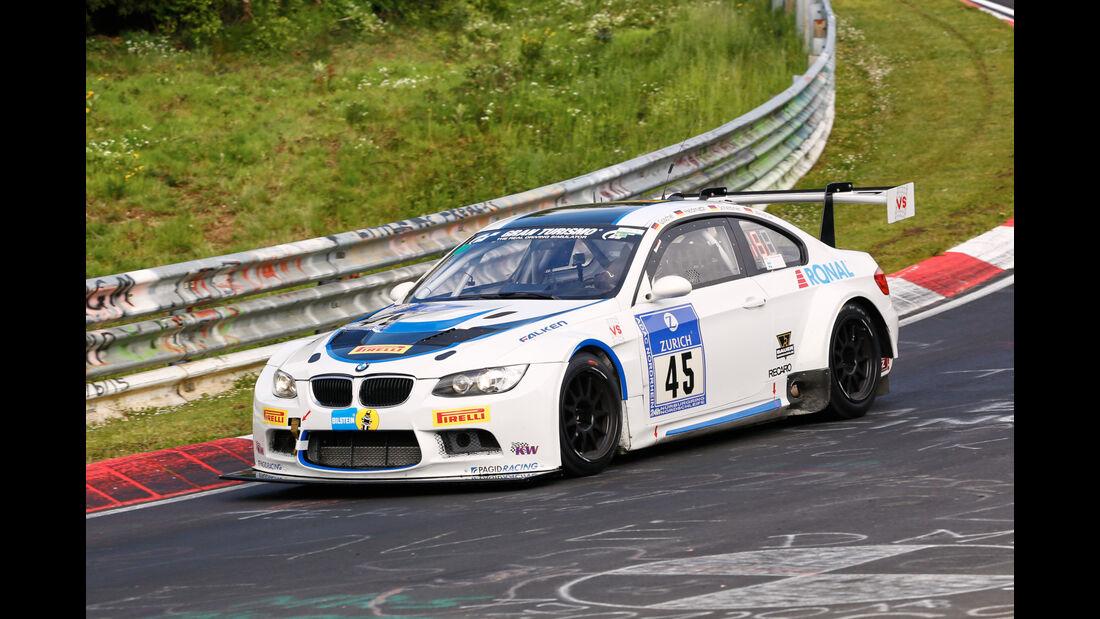 24h-Nürburgring - Nordschleife - BMW M3 E92 - TC-R & Vetter Motorsport - Klasse SP 8 - Startnummer #45