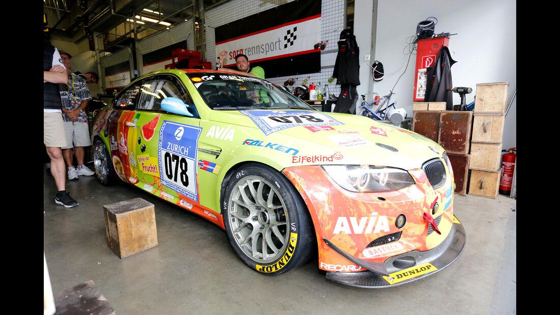 24h-Nürburgring - Nordschleife - BMW M3 GT4 - Team Securtal Sorg Rennsport - Klasse SP 10 GT4 - Startnummer #78