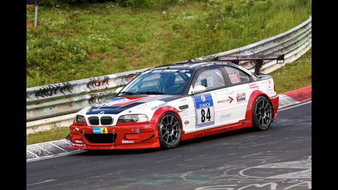 24h-Nürburgring - Nordschleife - BMW M3 GTR - Hofor-Racing - Klasse SP 6 - Startnummer #84