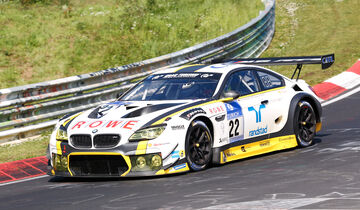 24h-Nürburgring - Nordschleife - BMW M6 GT3 - ROWE Racing - Klasse SP 9 - Startnummer #22