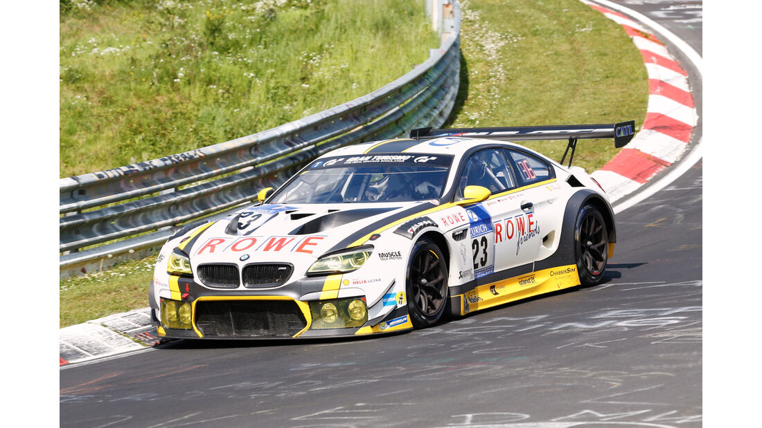 24h-Nürburgring - Nordschleife - BMW M6 GT3 - ROWE Racing - Klasse SP 9 - Startnummer #23