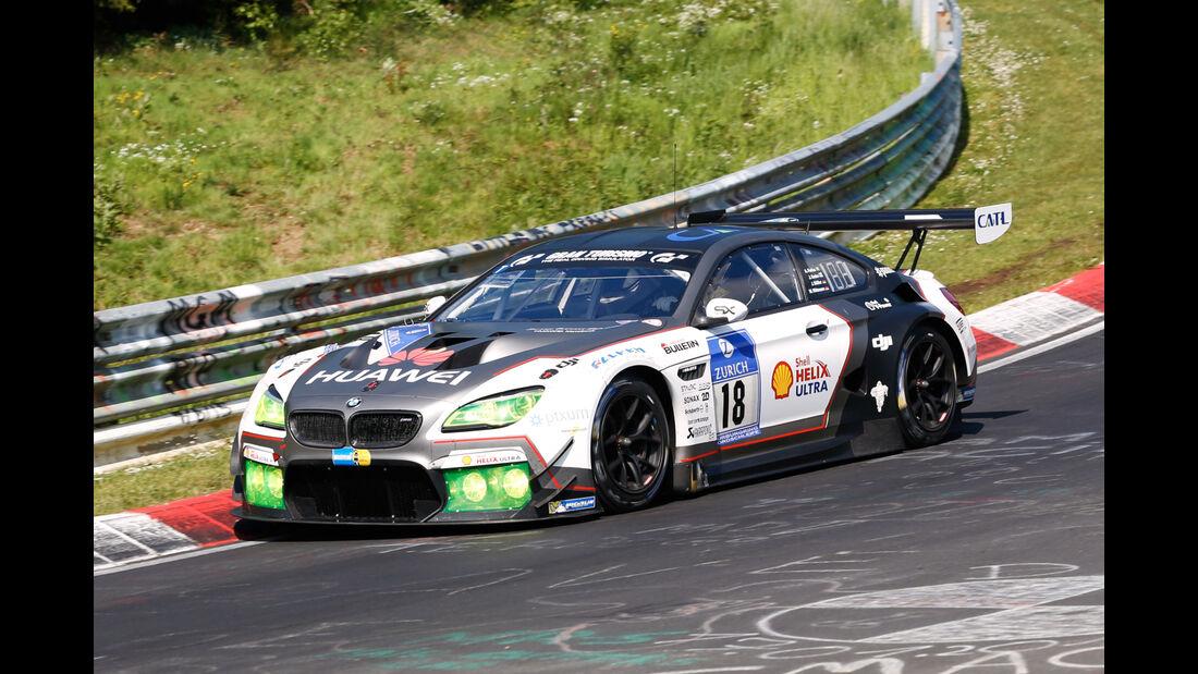 24h-Nürburgring - Nordschleife - BMW M6 GT3 - Schubert Motorsport GmbH - Klasse SP 9 - Startnummer #18