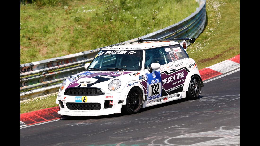 24h-Nürburgring - Nordschleife - BMW Mini - Klasse SP 2T - Startnummer #132