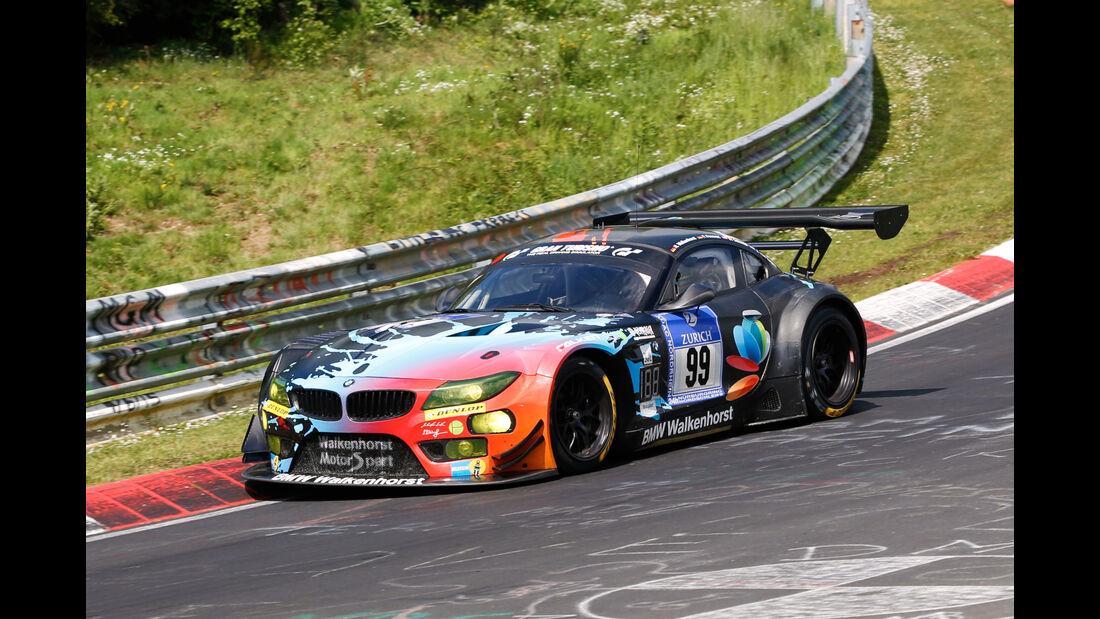 24h-Nürburgring - Nordschleife - BMW Z4 GT3 - Walkenhorst Motorsport powered by Dunlop - Klasse SP 9 - Startnummer #99
