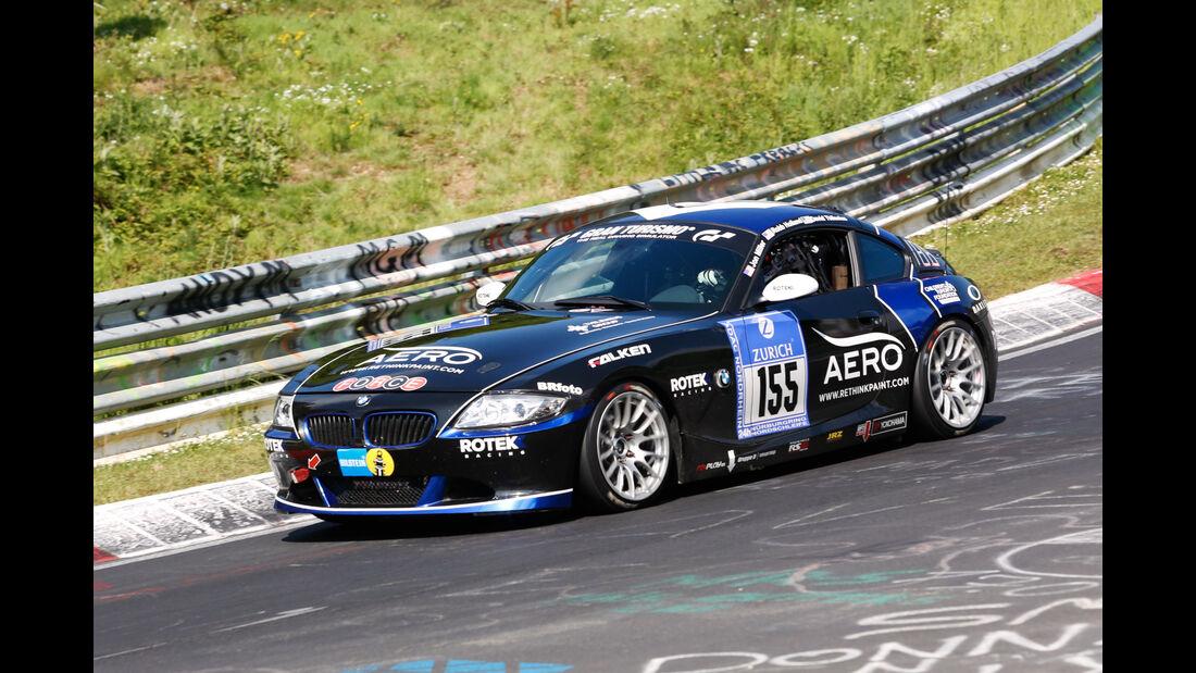 24h-Nürburgring - Nordschleife - BMW Z4 - Rotek Racing - Klasse V 5 - Startnummer #155