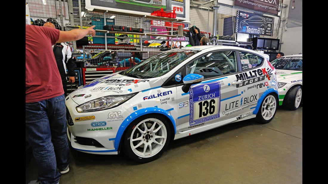 24h-Nürburgring - Nordschleife - Ford Fiesta ST - Manheller Racing - Klasse SP 2T - Startnummer #136